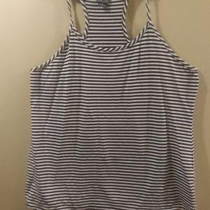 Cute Striped Top, Size XL